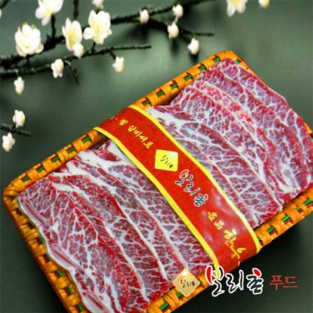 명장 LA갈비선물세트2호/ LA갈비 꽃갈비 5kg세트
